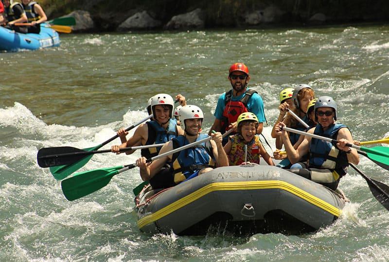 deportes de aventura en el pirineo