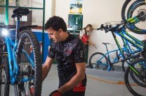 Hotel para ciclistas en Jaca