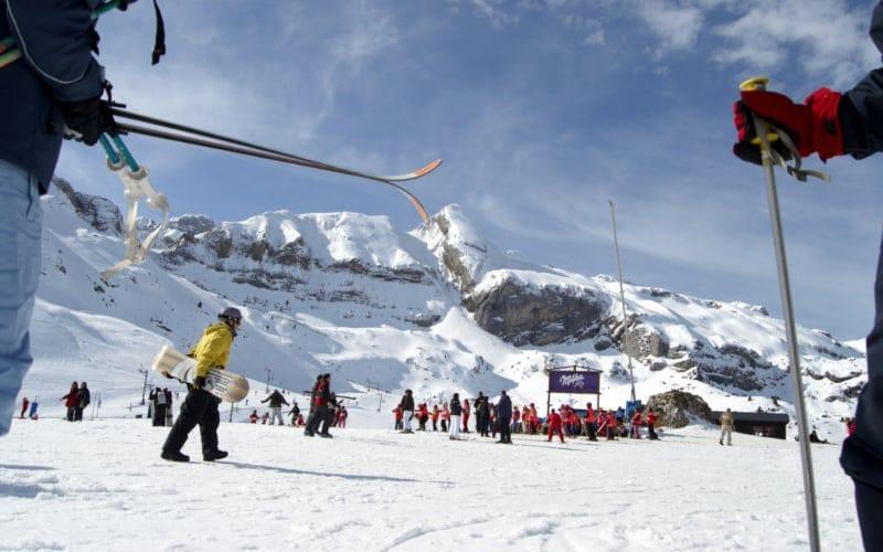 esqui en jaca