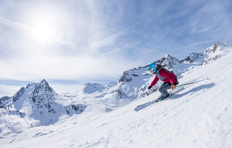 guia de pistas de esqui en el pirineo