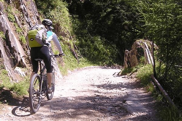 rutas en bici en jaca